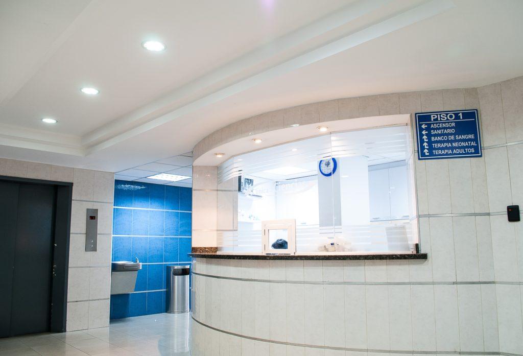 海外の病院の窓口・受付